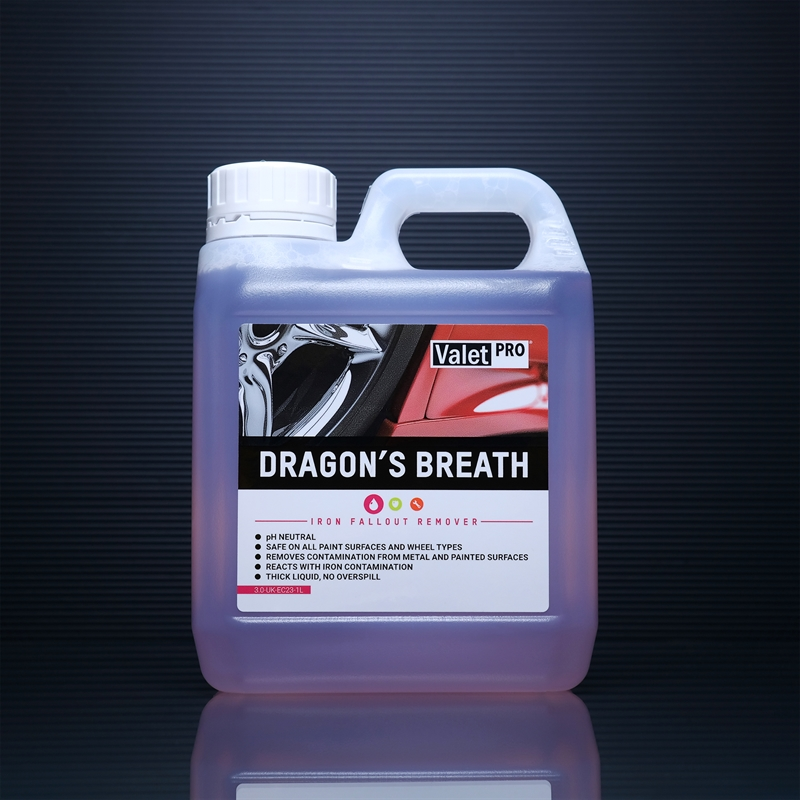 Dragons breath 1L front label
